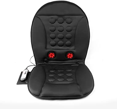 Wagan IN9989 12V Infra-Heat Massage Magnetic Cushion with AC Adapter: image