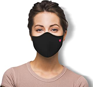 WITH U Washable Reusable Face Masks - 3-Layer Protections, Adjustable Ear Loops - Made in USA