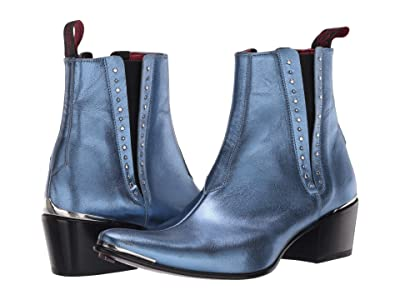 Jeffery-West Stud Glam Chelsea Boot Murphy (Blue) Women