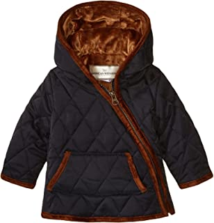 Widgeon Baby Nylon Quilted Hooded Asymmetrical Jacket