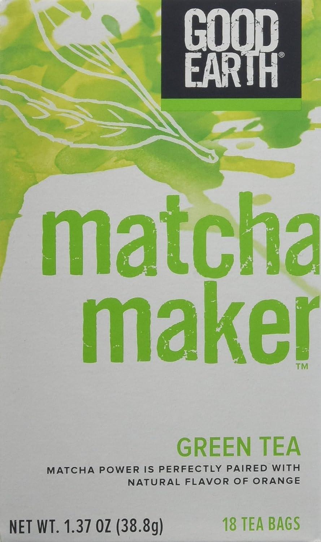 Good Earth Tea Raleigh Mall Matcha Maker Pack of Count 3 18 Omaha Mall
