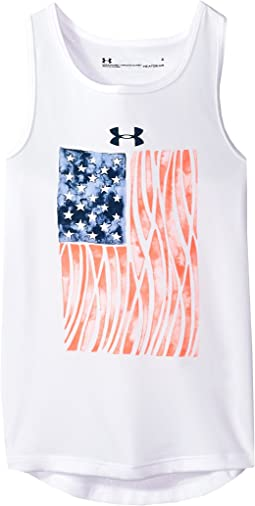 UA Flagged Tank Top (Little Kids)