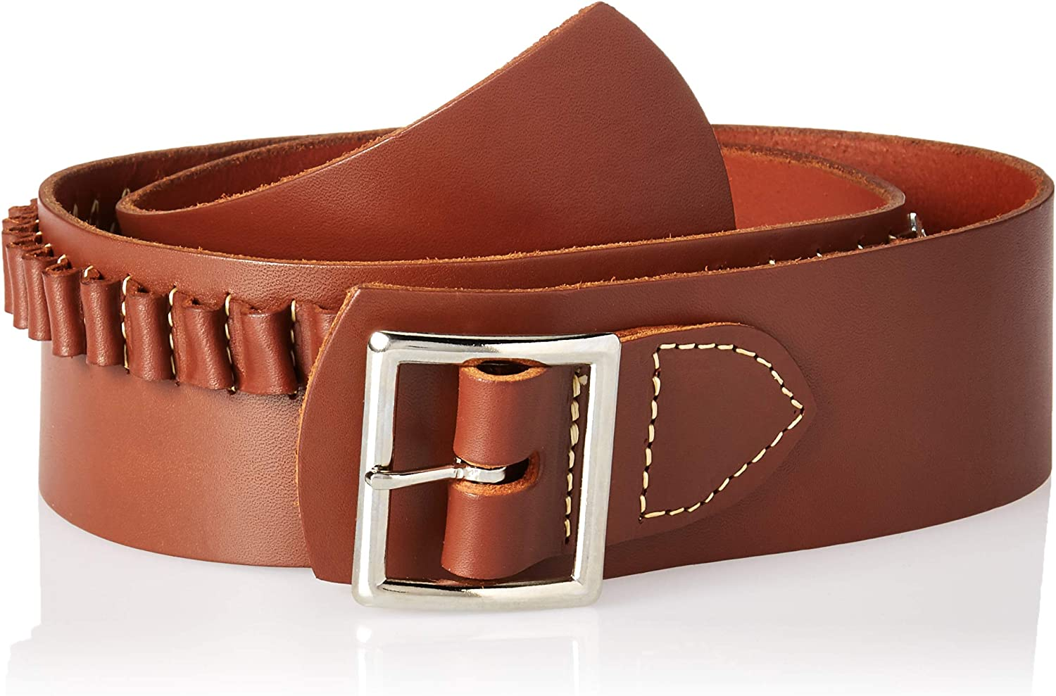 Hunter Western Drop Belt .38 Cal. with Conchos Extra Large 0168CXL, Brown
