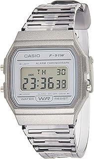 ساعة كاسيو رقمية للشباب للجنسين F-91WS-8DF