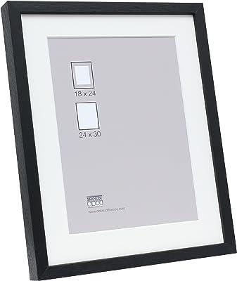 Deknudt Frames S223K2 18x24 Photoframe Black Wood