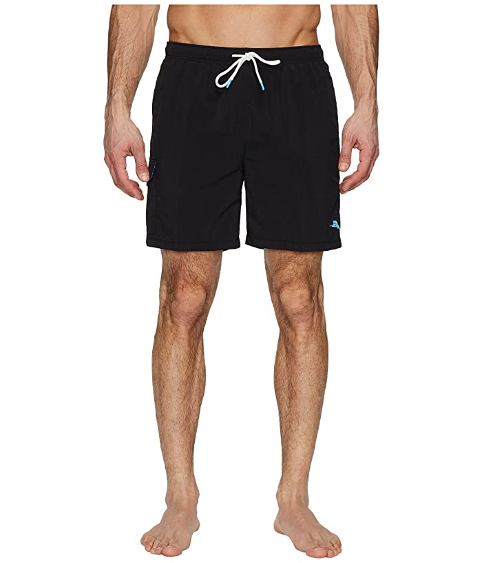 Tommy Bahama Naples Coast Swim Trunk (Black) Men