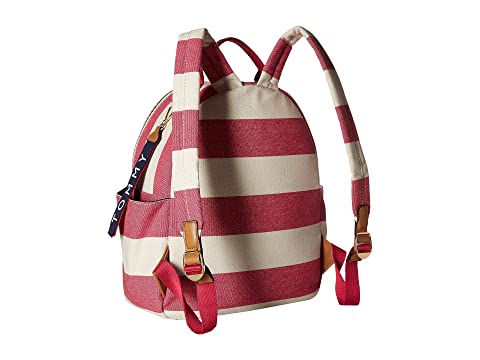 Frambuesa Classic Rugby Natural Tote Tejido Tommy Mochila Hilfiger naYwgzxqp