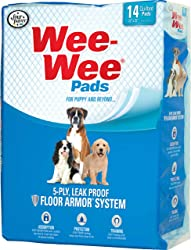 Wee-Wee Housebreaking Pads for Dogs, 30-Pack