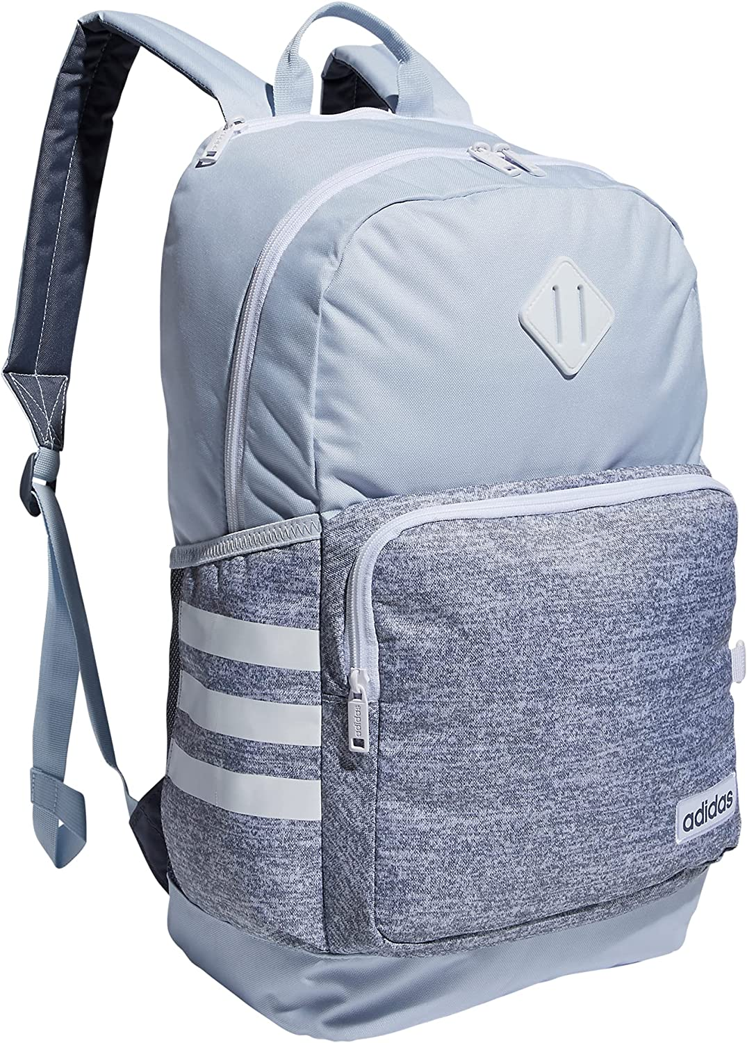 Quality inspection adidas Classic 3S 4 Backpack Jersey Max 62% OFF One Halo Grey White Blue S