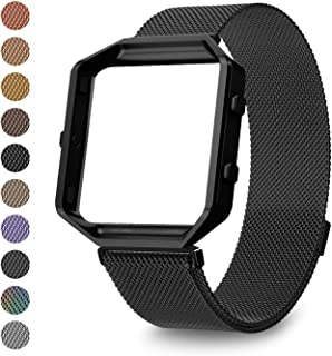 LEEFOX Compatible Fitbit Blaze Bands Frame, Special Edition Replacement Strap for Fitbit Blaze Smart Fitness Watch Sport Accessory Wristbands Small Large Men Women Boys Girls