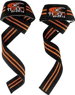 TIGON Heavy Weight Lifting Straps Gym Hand bar Wrist Support Wraps