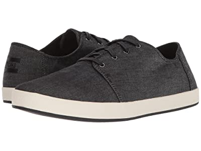 TOMS Payton (Black Chambray) Men