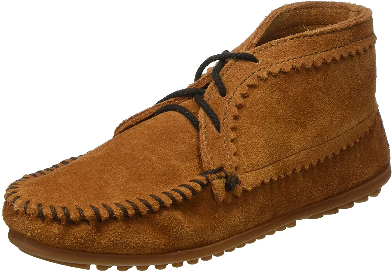 Minnetonka Women's Suede Portland Mall Ankle Boot cheap