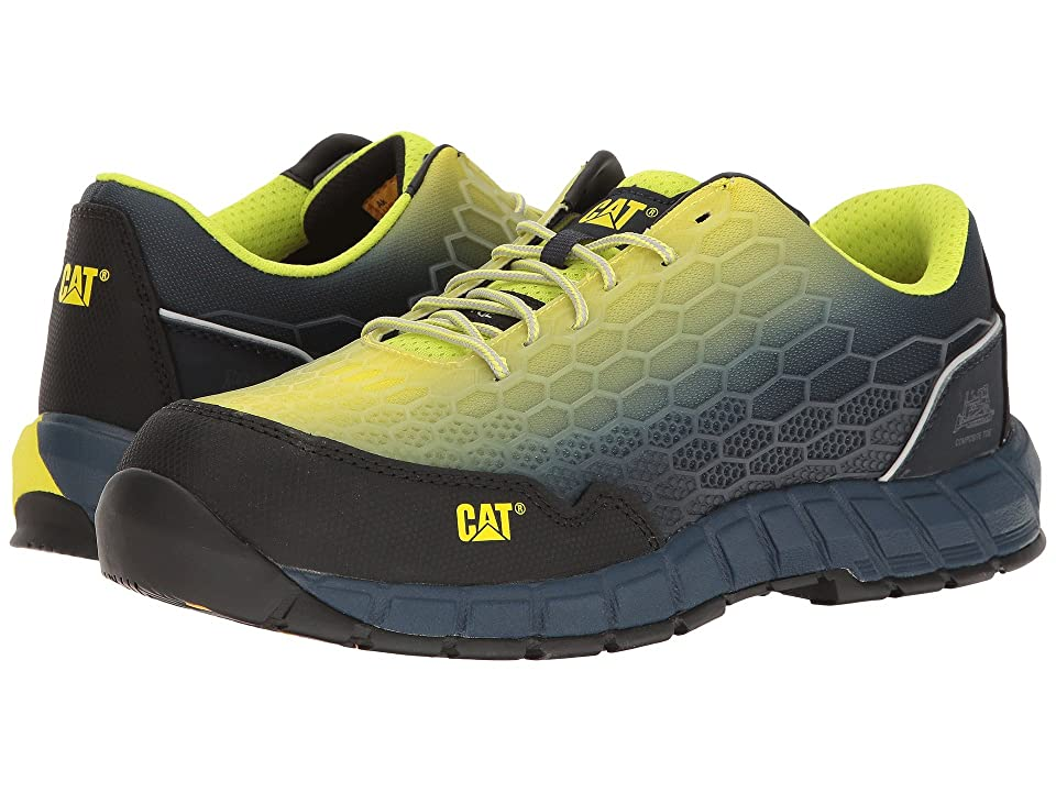 Caterpillar Expedient Composite Safety Toe (Lime Blue) Men