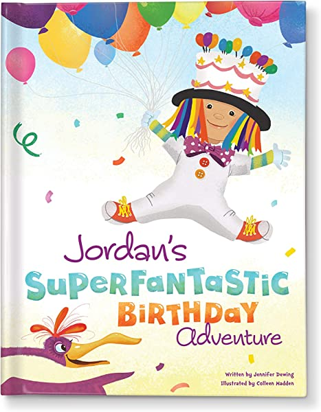 Personalized Birthday Celebration Gift Book For Kids