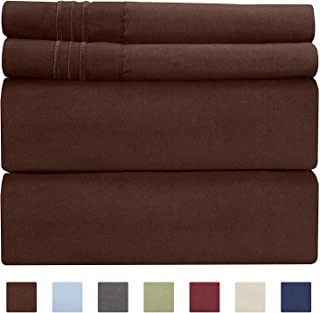 red deep fitted sheets
