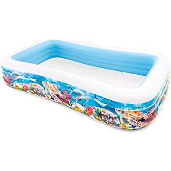 Intex 58485NP - Piscina hinchable tropical 305 x 183 x 56 cm ...