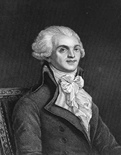 Maximilien Robespierre N(1758-1794) French Revolutionist Stipple And Line Engraving English Early 19Th Century Poster Prin...