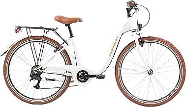 F.lli Schiano Elegance Bicicleta, Mujer, Oro-Blanco, 26 ''