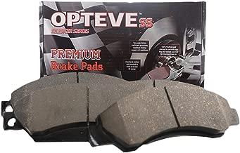Opteve Brakes CDX905 Premium Ceramic Brake Pads Rear | Fits Nissan 350Z 2009-03; 370Z 2013-11; Altima 2013-11; Infiniti Q50, QX50, QX60, QX70; EX35 ; EX37, FX37, JX35; FX35, FX45; G25; G35; G37 etc