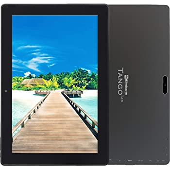 [3 Bonus Item] Simbans TangoTab 10 Inch Tablet 3 GB RAM, 64 GB Disk, Android 9 Pie, Mini-HDMI, Micro-USB, USB-A, Inbuilt GPS, Dual WiFi, Bluetooth, IPS Screen, Dual Camera Computer PC - TC93