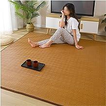 Natural Fiber Bamboo Braided Rug Summer Cool Pad Bedroom Living Room Floor Mat Mattress Indoor Outdoor (Color : A, Size : ...