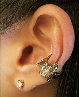 Bronze Bat Ear Cuff Bat Jewelry Animal Earring