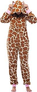 Adult Onesie with Animal Prints Pajamas