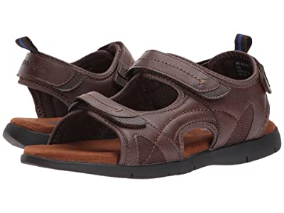 Nunn Bush Rio Grande Three Strap River Sandal (Tan) Men