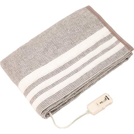 コイズミ 電気毛布 掛敷毛布 電磁波カット 丸洗い可 188×130cm KDK-7596D