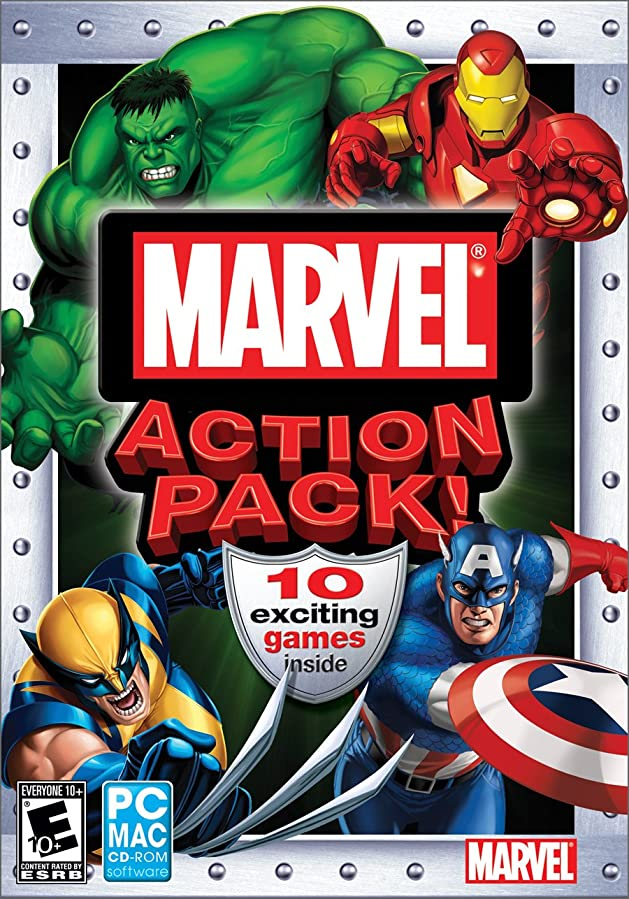 シュリンク南方のディンカルビルMarvel Action Pack (輸入版)
