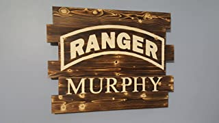 US Army Ranger Rustic Sign