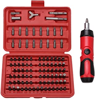 Best Choice 101-Piece All Purpose Security Bit Set with Bonus Ratcheting Screwdriver,..