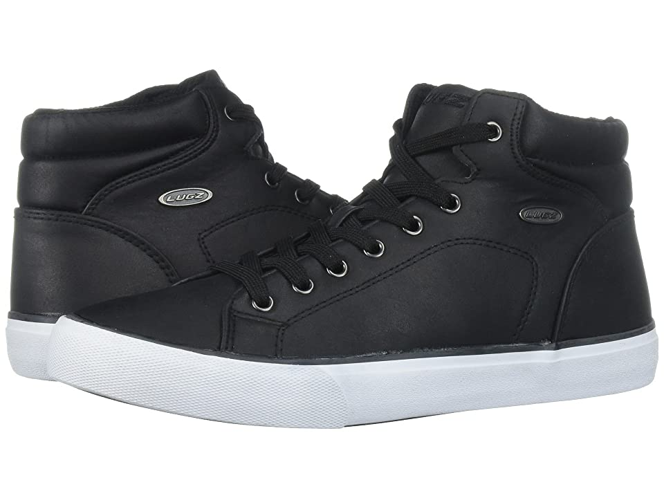 Lugz King LX (Black/White) Men