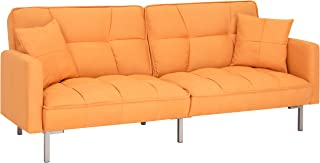 Amazon.com: Orange - Sofas & Couches / Living Room Furniture: Home ...