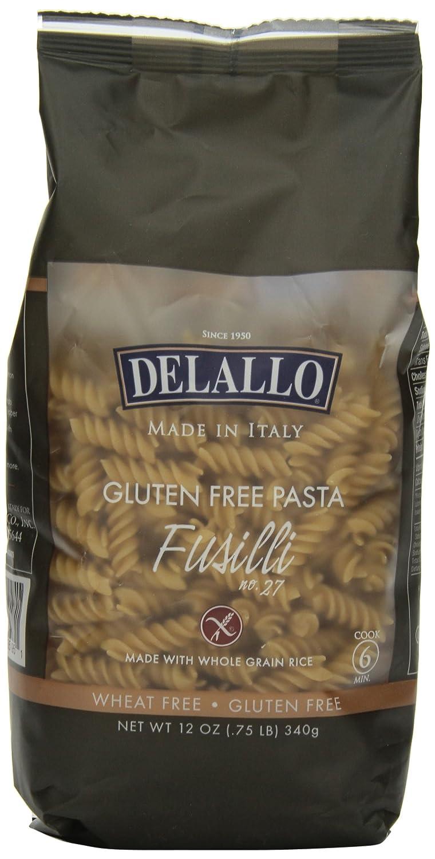 DeLallo Gluten Free service Pasta Ounce 12 Now free shipping Fusilli