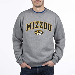NCAA Men's Crewneck Charcoal Gray Sweatshirt