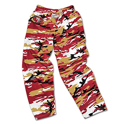 17ae6d6ac2c Zubaz Men s Officially Licensed NFL Camo Print Team Logo Casual Active Pants