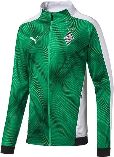 PUMA Borussia Monchengladbach Stadium Jacket - Green 2019-2020