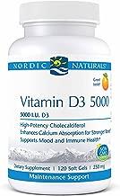 Nordic Naturals Pro Vitamin D3 5000 5000 Iu Vitamin D3 Cholecalciferol