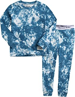 Vaenait Baby 12M-7T Kids Unisex Boys & Girls 100% Cotton Sleepwear Pajamas 2pcs Set Prisim