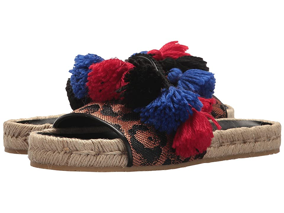Etro Pom Pom Slide (Black) Women