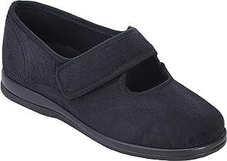 Cosyfeet Extra Spacieux Audrey pour femme Décontracté Chaussure 2 Couleurs 6E Raccord Tailles UK