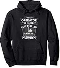 Forklift Driver Hoodie Equipment Operator Warehouse Jobs