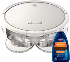 Bissell SpinWave Hard Floor Expert Pet Robot, 2-in-1 Wet Mop and Dry Robot Vacuum, WiFi Connected with Structured...
