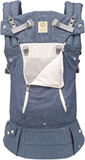 LÍLLÉbaby The Complete All Seasons SIX-Position, 360° Ergonomic Baby & Child Carrier, Chambray