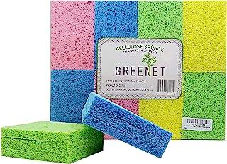 Cleaning Sponges Bulk Sponges, 24 Pack+ 2 Free Heavy Duty Scouring Pads, Sponges Bathroom Sponge Kitchen, Cleaning Sponge ...