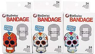 BioSwiss Sugar Skull Bandages - Multipack of 3 Boxes