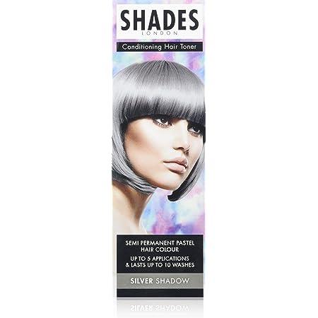 Shades London - Tinte para cabello, color pastel semipermanente