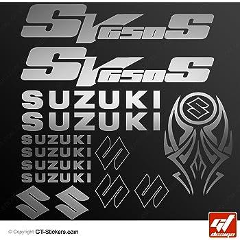sv650-s SV650/S gt-design sv-650s Aufkleber Aufkleber Suzuki SV650S/ SV650/S SV 650-s Sticker /SV 650S /Schwarz/ selbstklebend